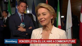 Von Der Leyen Admits to Issues With U.S. But Wants to Work Together