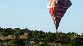 Kapadokya'da balon kazası: 2 ölü