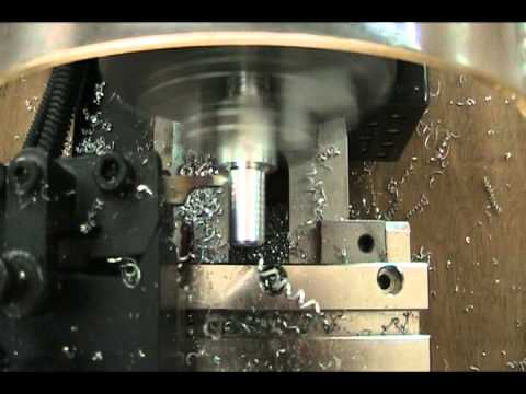 Mini CNC Lathe threading