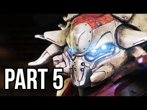 Destiny Gameplay Walkthrough - Part 5 Beta - Campaign Mission 5 (PS4/XB1 1080p HD)