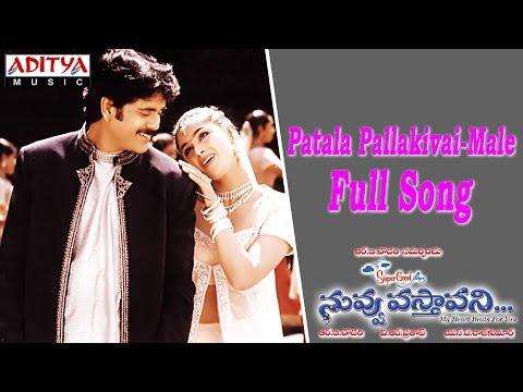 Patala Pallakivai Male Full Song Ll Nuvvu Vasthavani Movie Ll Nagarjuna, Simran video