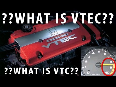 ★What is Honda VTEC and VTC?★