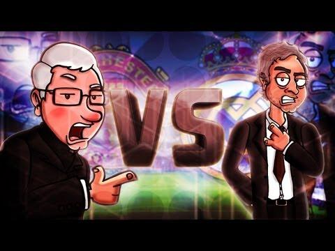 Alex Ferguson Vs Mourinho -- Football Rap Battles #5