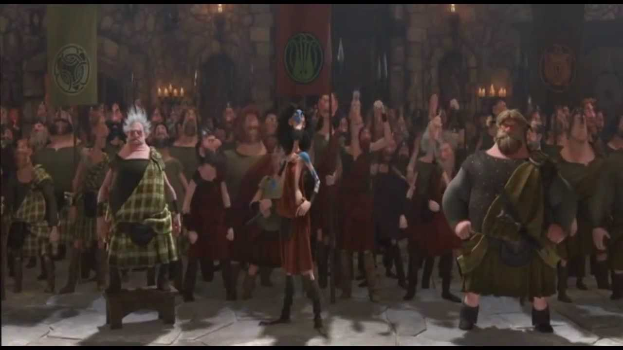 Rise of the Brave Tangled Dragons - Merida's Suitors - YouTube