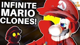 What if INFINITE Cosmic Clones Were Spawned in Super Mario Galaxy 2?