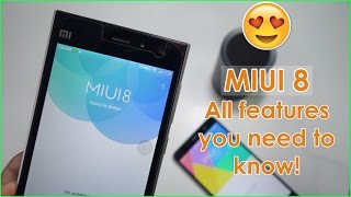 MIUI 8 - All features Review !
