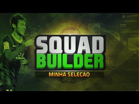 SELEÇÃO BRASILEIRA ft. SIF NEYMAR e TOTY THIAGO SILVA - Squad Builder #3 - FIFA 15 Ultimate Team