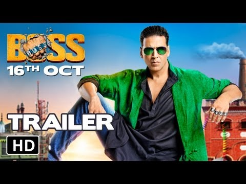 Boss Official Hd Trailer | Akshay Kumar | Boss 2013 video