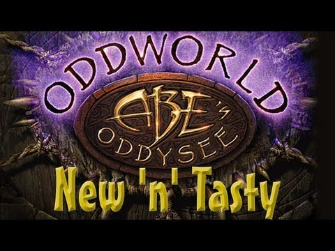 Oddworld Abe's Oddysee HD: New 'n' Tasty! (2013 Remake Gameplay)