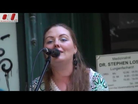 Olga Schevzova (Russia). Vocal. Vienna Street Performers by RussianAustria (Full HD)