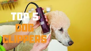 Best Dog Clippers in 2019 - Top 5 Dog Clippers Review