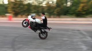 Eskişehir Hyosung 250 GTR TEK TEKER - Hyosung Wheelie - Enes