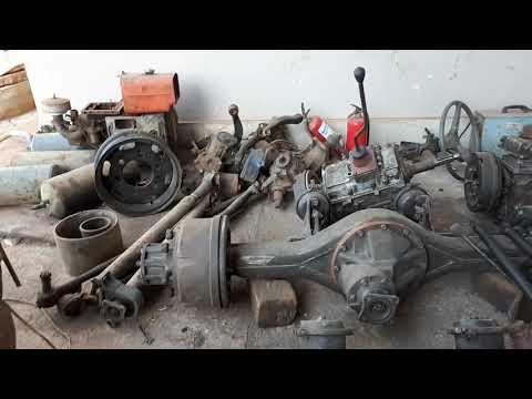 Xe công nông  đầu dọc. 2 cầu  thắng hơi ben đổ đề điện  .bửng nâng .hệ thống bón phân. 0972354788 thumbnail
