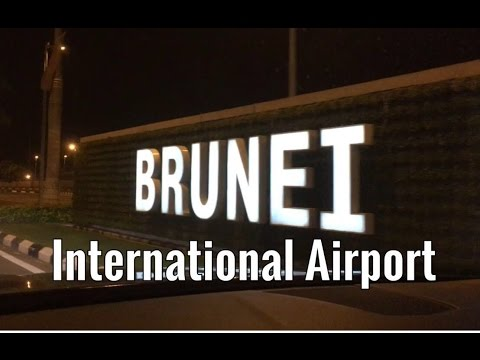 Brunei International Airport - Departure & Arrival Halls
