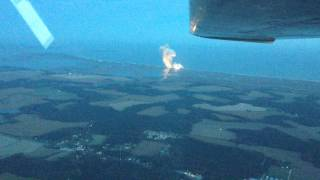 Orbital Sciences Explosion at Wallops from 3000ft