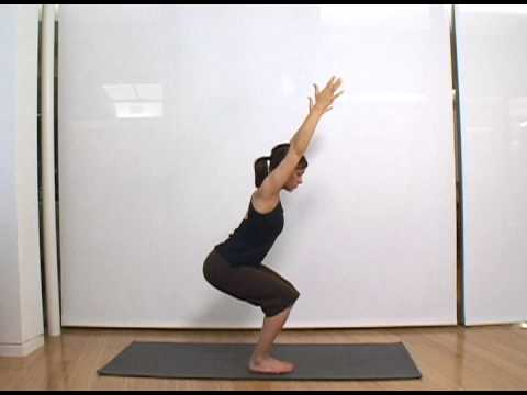 How to Perform the Chair Pose - Women's Health Yoga