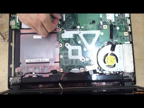 Acer Aspire E5-473  Disassembly and fan cleaning laptop repair