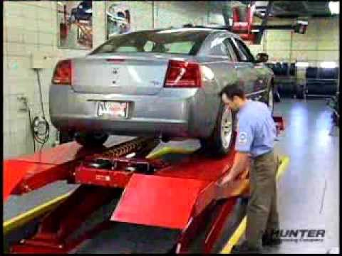 Full Floating Axle >> Hunter Engineering Scissor Alignment Lift Rack | RX10 - RX12 - RX16 - YouTube