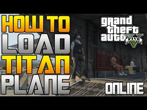 GTA 5: How to OPEN and LOAD the Titan Cargo Plane (People, Vehicles, EVERYTHING) Online