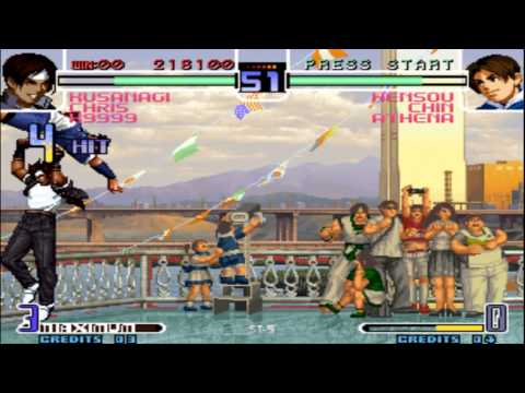 The King of Fighters 2002 Arcade Gameplay