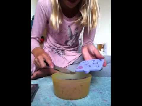 How to make a moon sand lemon cake