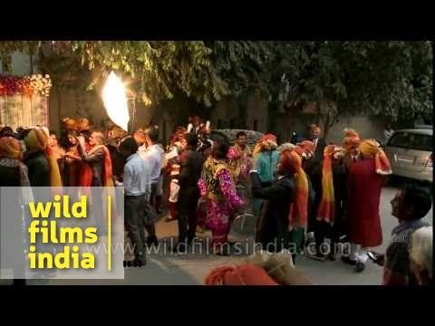 A modern Hindu wedding