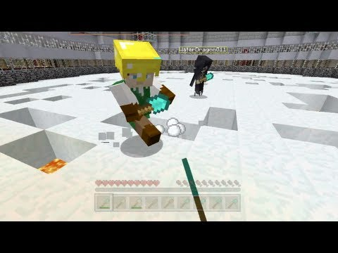 Minecraft Xbox — Minecritters Spleef Tournament — Part 1