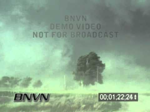 5/22/2004 Beaver City Nebraska RFD High Winds & Tornado Footage