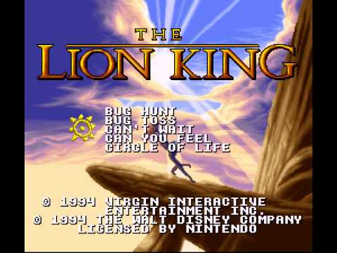 The Lion King - Lion King, The (SNES) - Music - User video