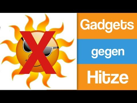 5 Gadgets gegen Hitze - Gadgets auf Amazon ( deutsch ) - Gadgets unlocked