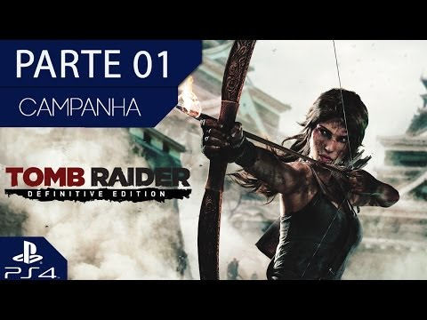Tomb Raider (Definitive Edition/PS4): Gráficos Brutais!! 1080p!