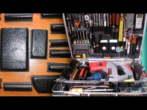 Кейс для инструментов своими руками из обычного дипломата