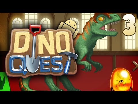 Dino Quest: Dinosaur Dig Game | Ep.03 - Life Found A Way. video