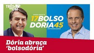 João Doria abraça o voto 'bolsodoria'