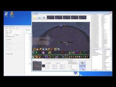 WoW Fishing Bot Tutorial - Creating your own fishing bot for World Of Warcraft in minutes