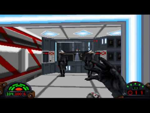 Star Wars: Dark Forces - Walkthrough - Part 4: Research Faci