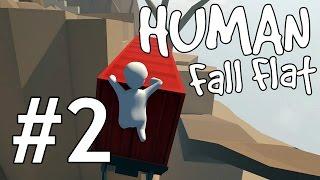 Let's Play Human: Fall Flat - Deutsch #2 - Human: Fall Flat - Gameplay - German