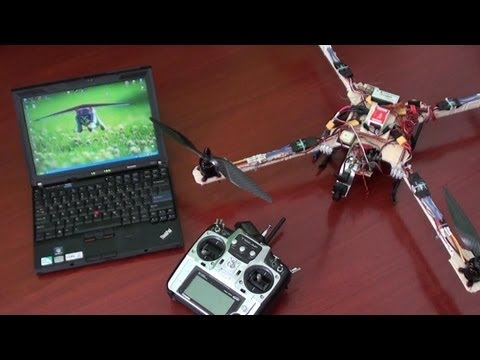 How to setup DJI Naza gains using Radio and DJI Assist