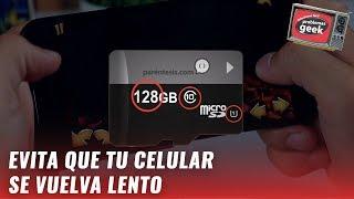 ¿Qué tarjeta microSD debo comprar para mi smartphone?