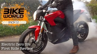 Zero SR Electric Motorbike First Ride Review