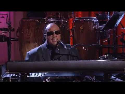 stevie wonder @ the white house 2009- gershwin prize