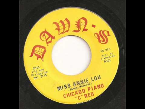 Chicago Piano C Red - Miss Annie Lou
