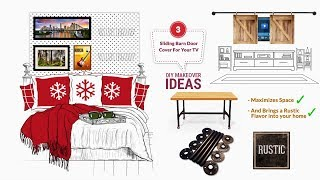 How to Makeover your Room 1: How to DIY Pegboard Headboard, Etc