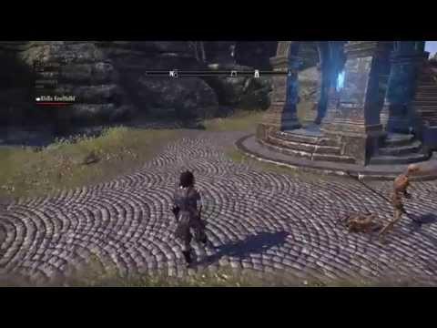 The Elder Scrolls Online - Redguard dance in the street