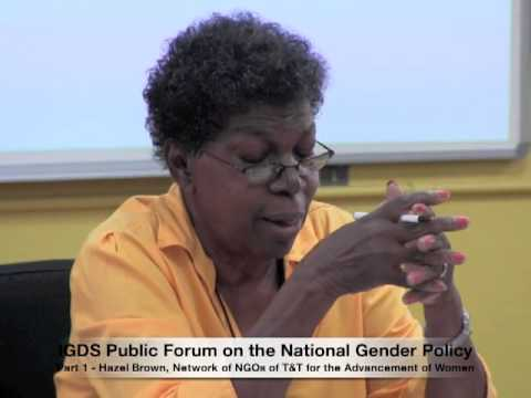 IGDS PUBLIC FORUM on the draft Gender Policy _ Part 1