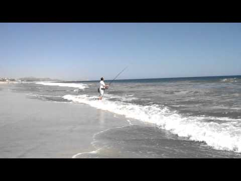 Fishing on the Beach in San Jose del Cabo