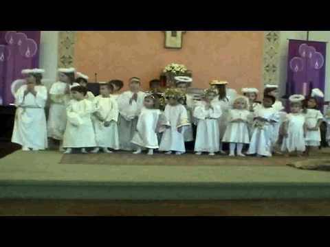 St. John Neumann Christmas Pageant 2009 (part 1)