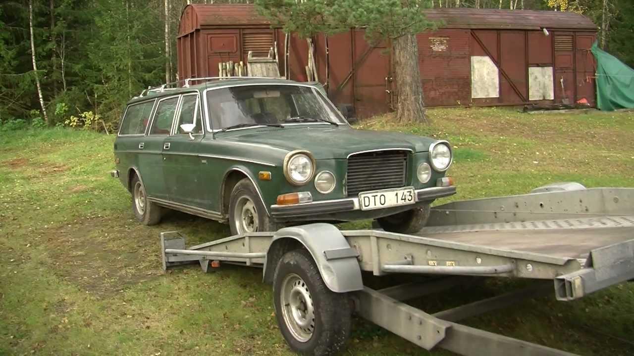 Renoveringen Av En Unik Volvo 164 Herrg 229 Rdsvagn Youtube