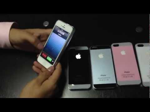 Miliky Case iPhone 5 LED GLOW LIGHTING CASE, Plug & Play