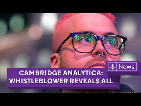 Cambridge Analytica: Whistleblower reveals data grab of 50 million Facebook profiles